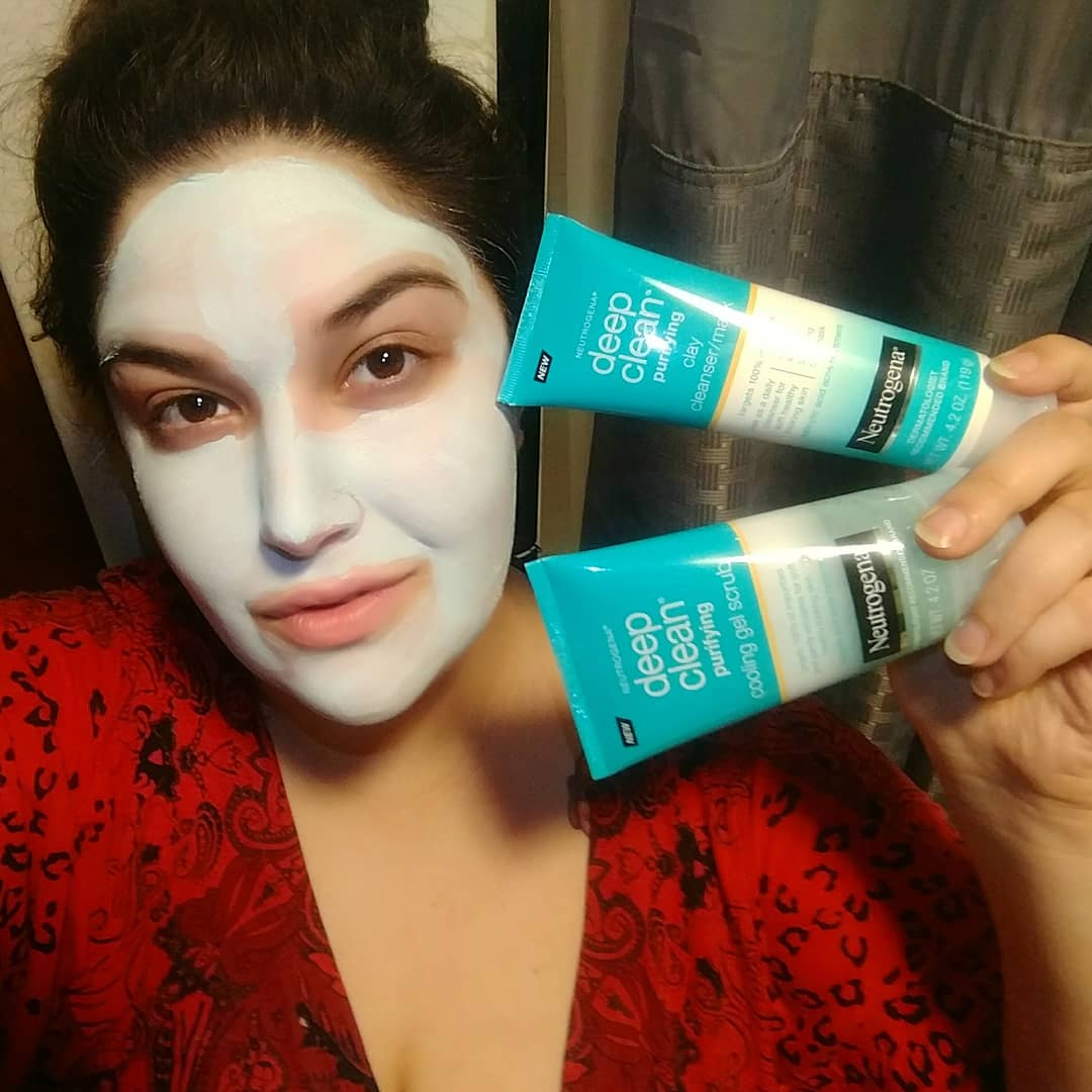 Deep Clean Purifying Clay Mask & Cleanser by Neutrogena #4