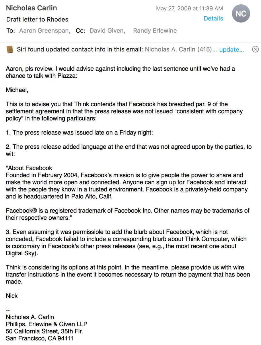 Aaron greenspan on twitter mark just now on cnn im used to thats odd mark legally certified that he and facebook would publicize my settlement consistent with company policy for press releases thecheapjerseys Images