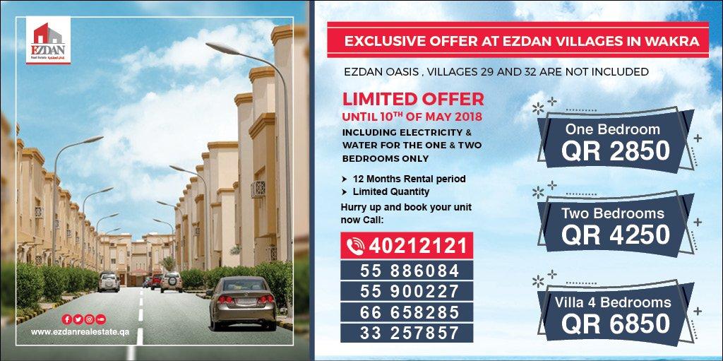 Ezdan Real Estate on Twitter: