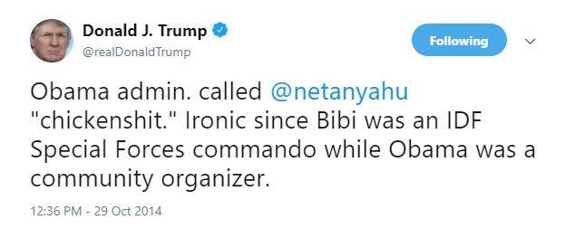 Trump twitter.