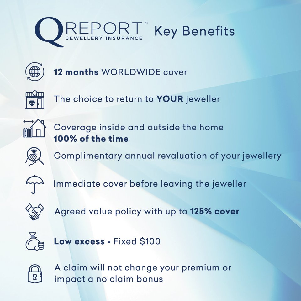 Q Report On Twitter Q Report Only Specialises In Jewellery Insurance So We Are Very Good At It Jewelleryinsurance Qreport
