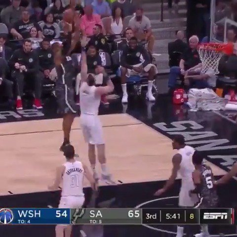 LaMarcus Aldridge pushed the @spurs to their 5th win in a row with 27 PTS, 9 REB! #GoSpursGo https://t.co/NQkj2J1ahA