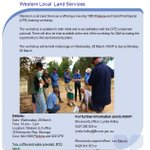 Just under a week until our 1080 #Pindone and #Canid #Pest #Ejector workshop in #Buronga. Details here - https://t.co/0wqE9bBGob   #westernregion