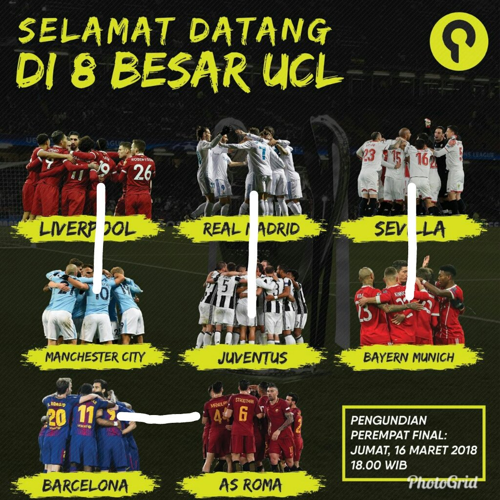 #Ucldraw Latest News Trends Updates Images - bm_dwicahyo