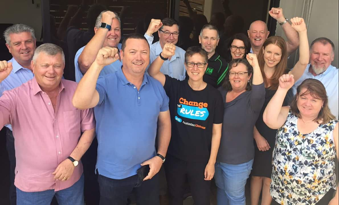 A busy day in Adelaide at CPSU Executive with @sallymcmanus. Time to #JoinYourUnion and #ChangeTheRules #auspol #nswpol @psansw @CPSUNSW