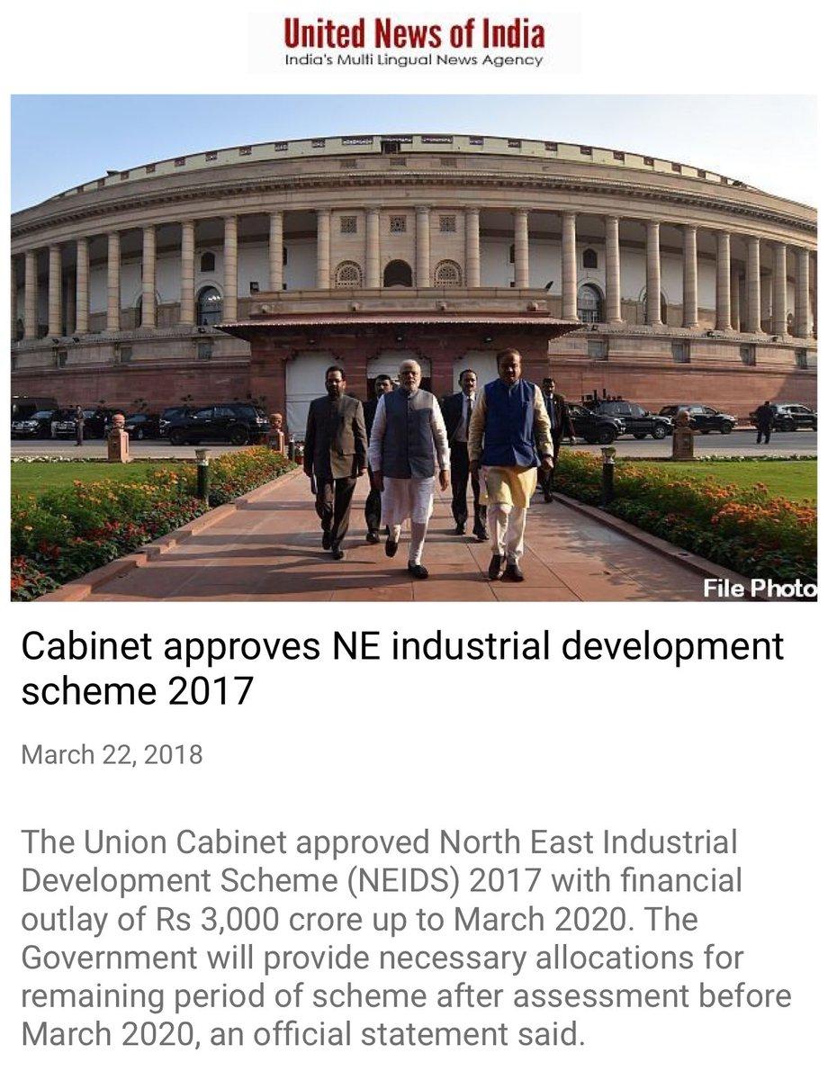 Cabinet approves NE industrial developme...