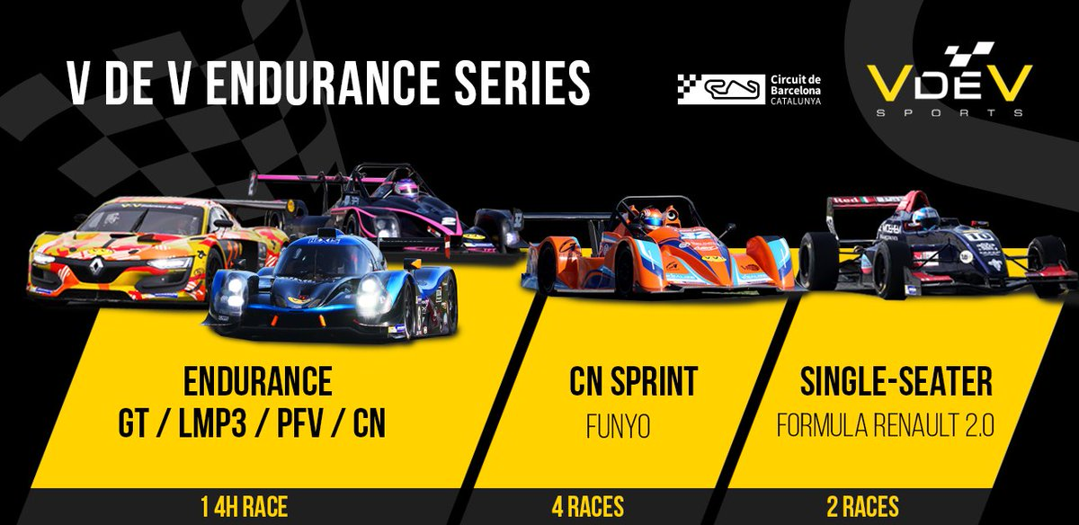 It will be a fantastic race weekend at the Circuit! Time for the #VdeV Endurace Series! https://t.co/ZYGyeeRdBV https://t.co/i63zSEjxFR