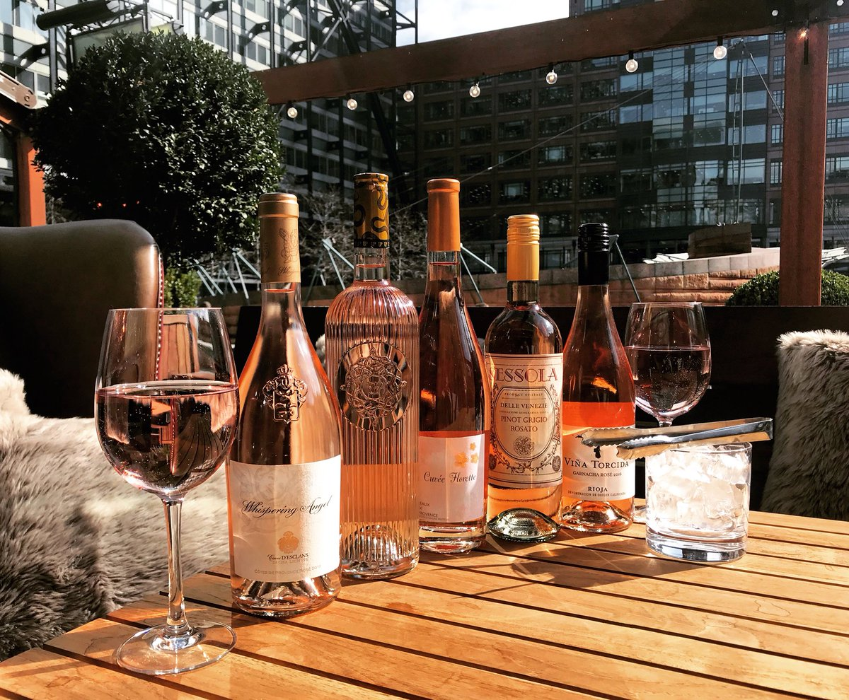 Gorgeous weather calls for rose in sunshine.  We have it all! Come over and cozy up in our sunny terrace with a glass(or bottle; we won't judge 😉) of wine.  #rose #rosewine #sunshine #springtime #youngs #geronimo #publife #liverpoolstreet #exchangesquare #ec2 #thewhitehorseec2 https://t.co/M36RohQacD