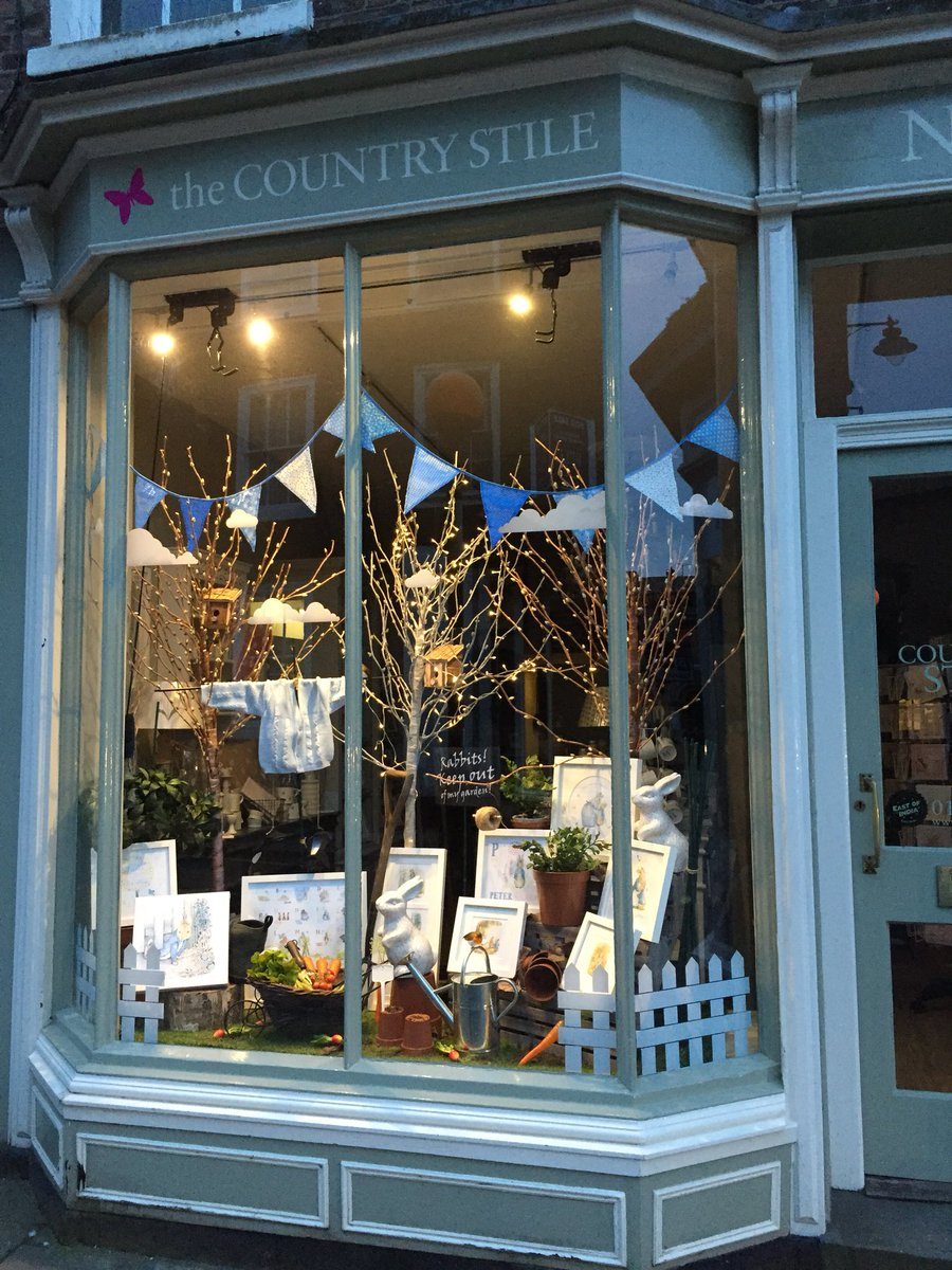 The Country Stile On Twitter Our Shop Window Has Been Transformed