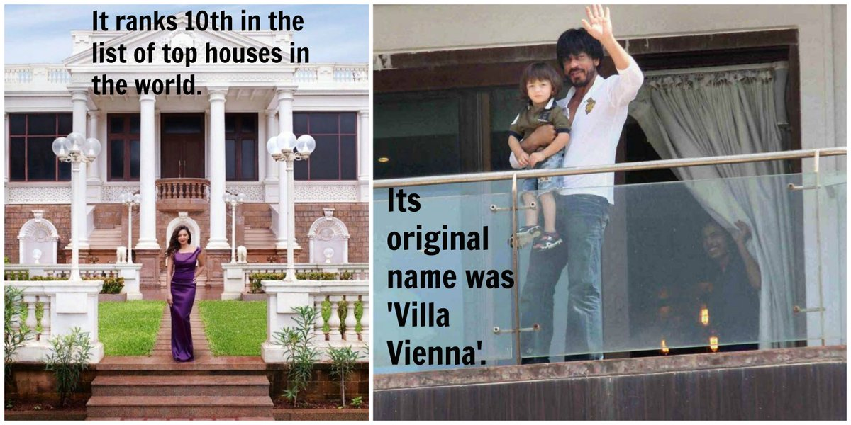 7 Facts About Shah Rukh Khan's Home 'Mannat', That Will Blow Your Mind https://t.co/5bHrhyHkSC
