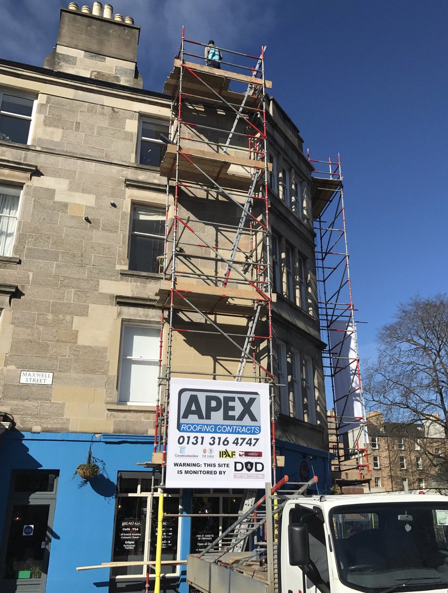 Apex Roofing On Twitter General Roof Repairs Being Carried Out In Morningside The Weather Is Being Kind To Us For A Change
