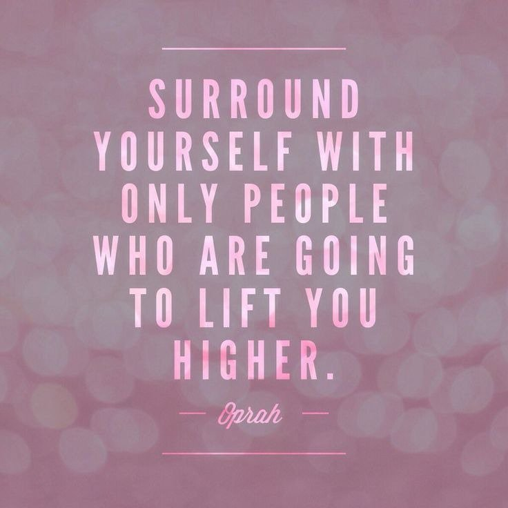We often get so caught up in life we forget that those who surround us affect our energy. #ThursdayThoughts