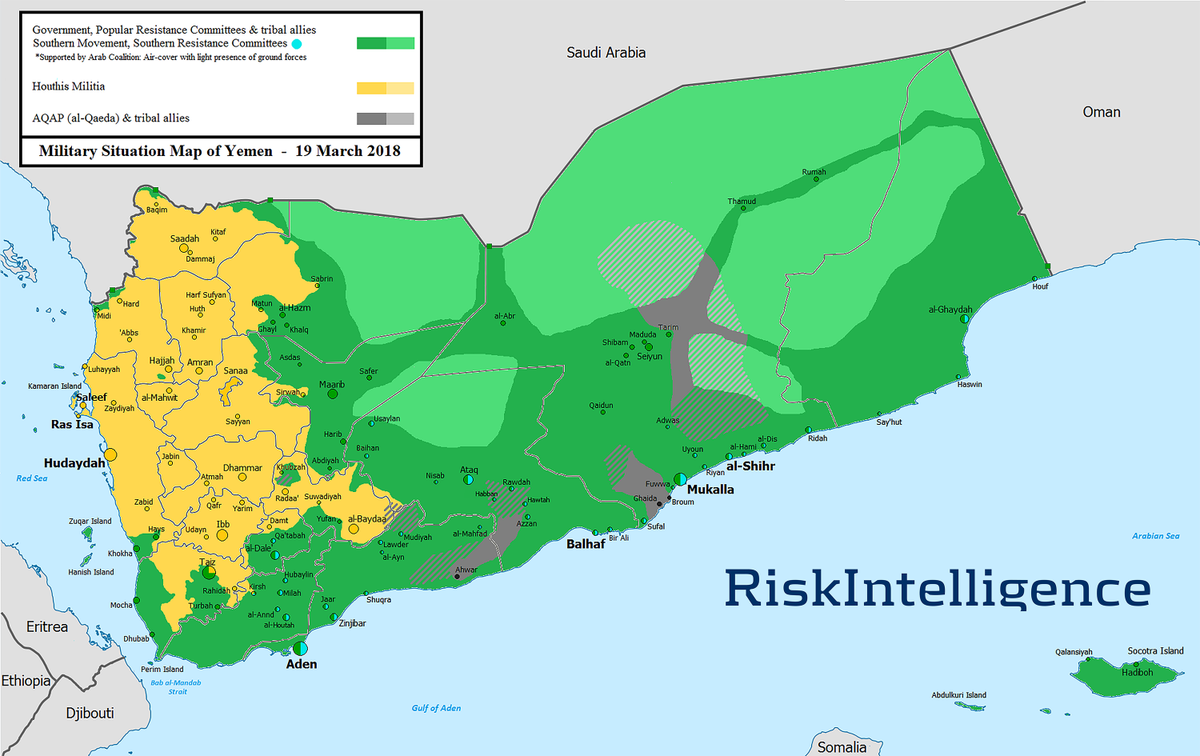 Risk intelligence on twitter yemen map yemen conflict our weekly yemen report httpriskintelligenceportsterminalsportsterminalsreportsyemenportsterminalsreport picitter7gtzm1q0d5 gumiabroncs Images
