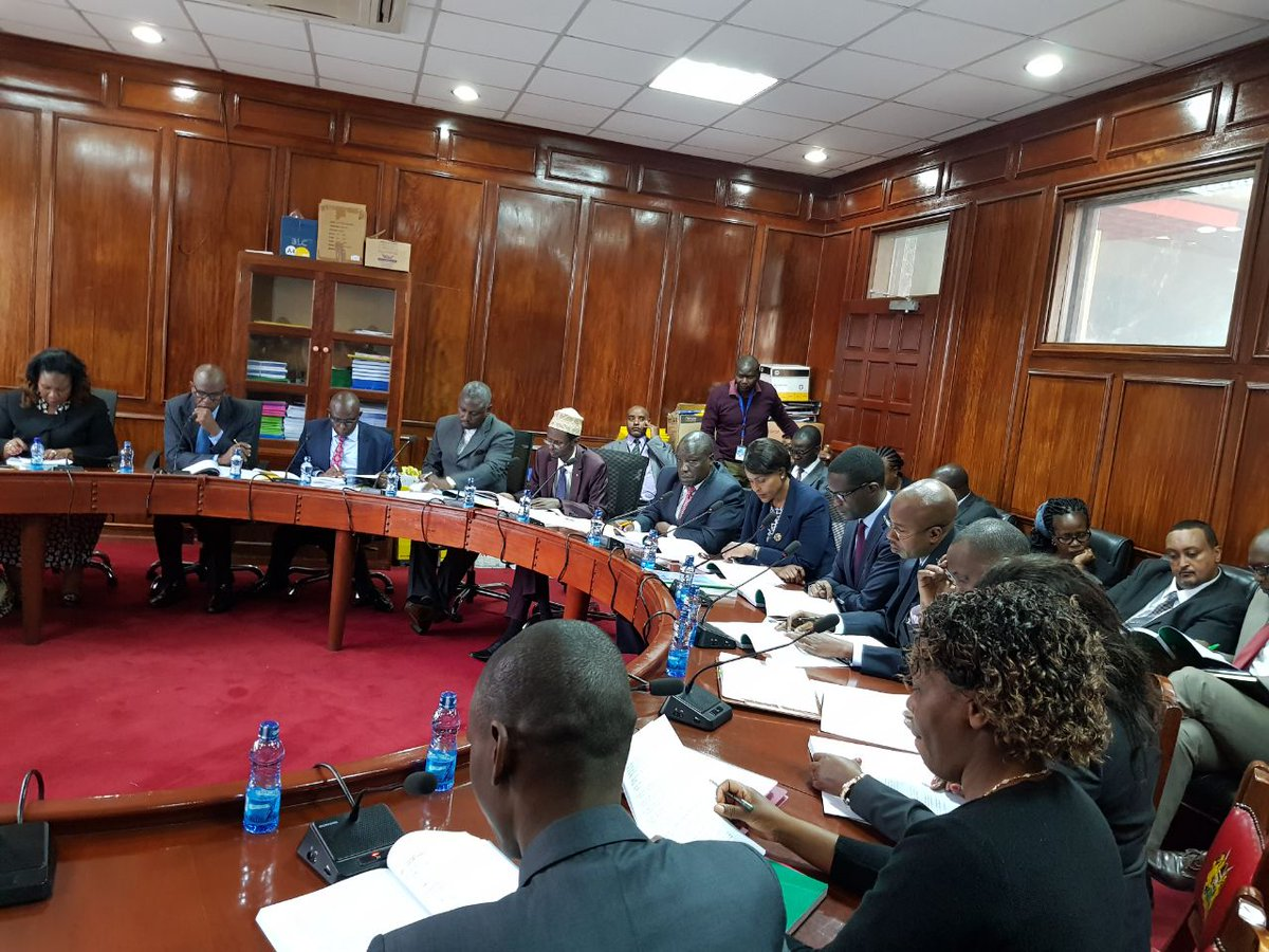 Marjan Hussein on loss of BVR kits in Emgwen: One cannot access voter registration data offline. Those who stole the kits cannot access the National voter register because it is highly secured #IEBCGrilling