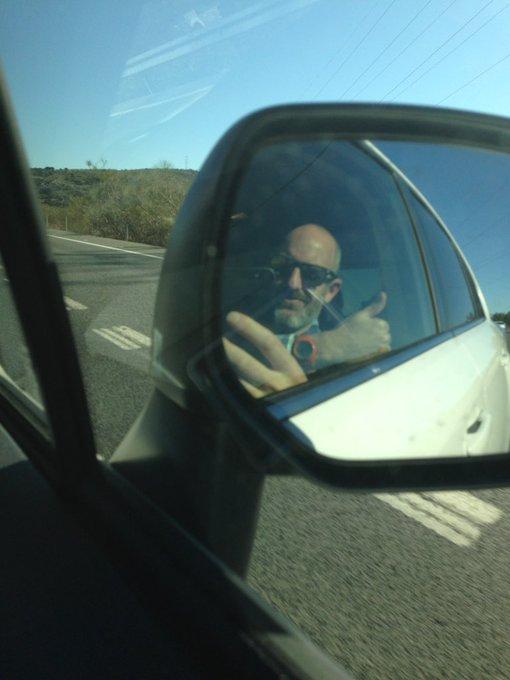 Saliendo de Malaga camino de la XIV #KddNevasport 🚙
