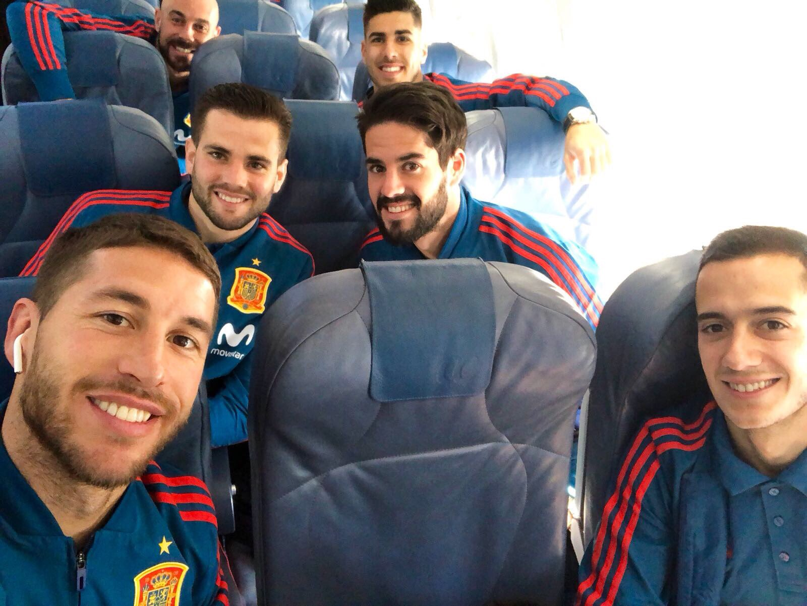 Take-off! �� #VamosEspaña https://t.co/4Wz1AsXIaV
