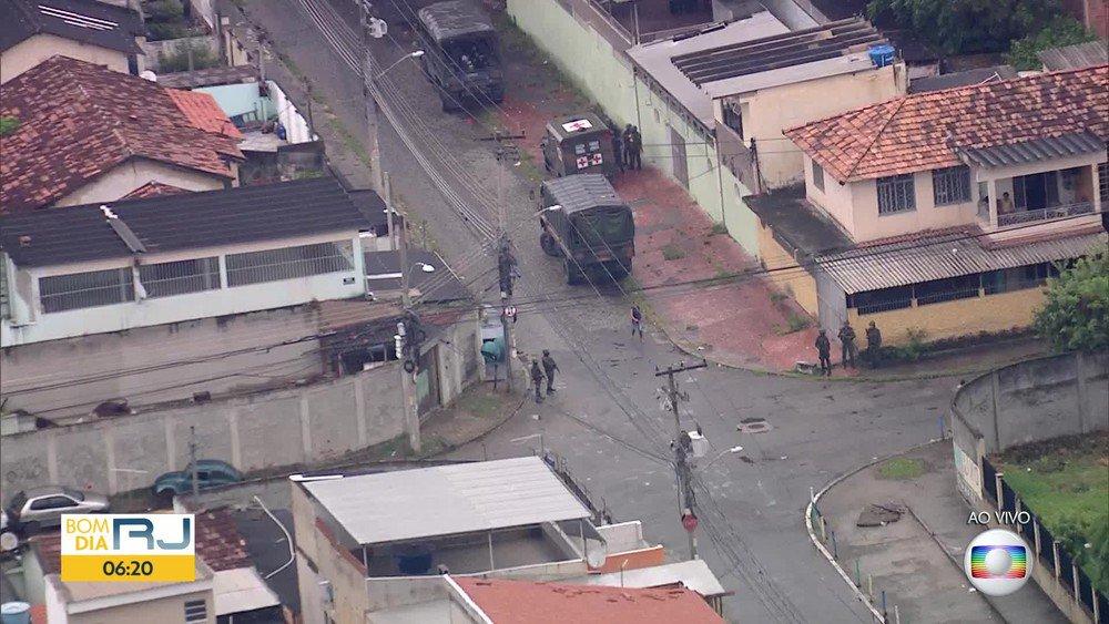 Forças Armadas e polícias do RJ fazem operação na Vila Vintém https://t.co/sph8iGdxmV #G1