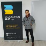 Image for the Tweet beginning: The Blockchain HUB in Kyiv,