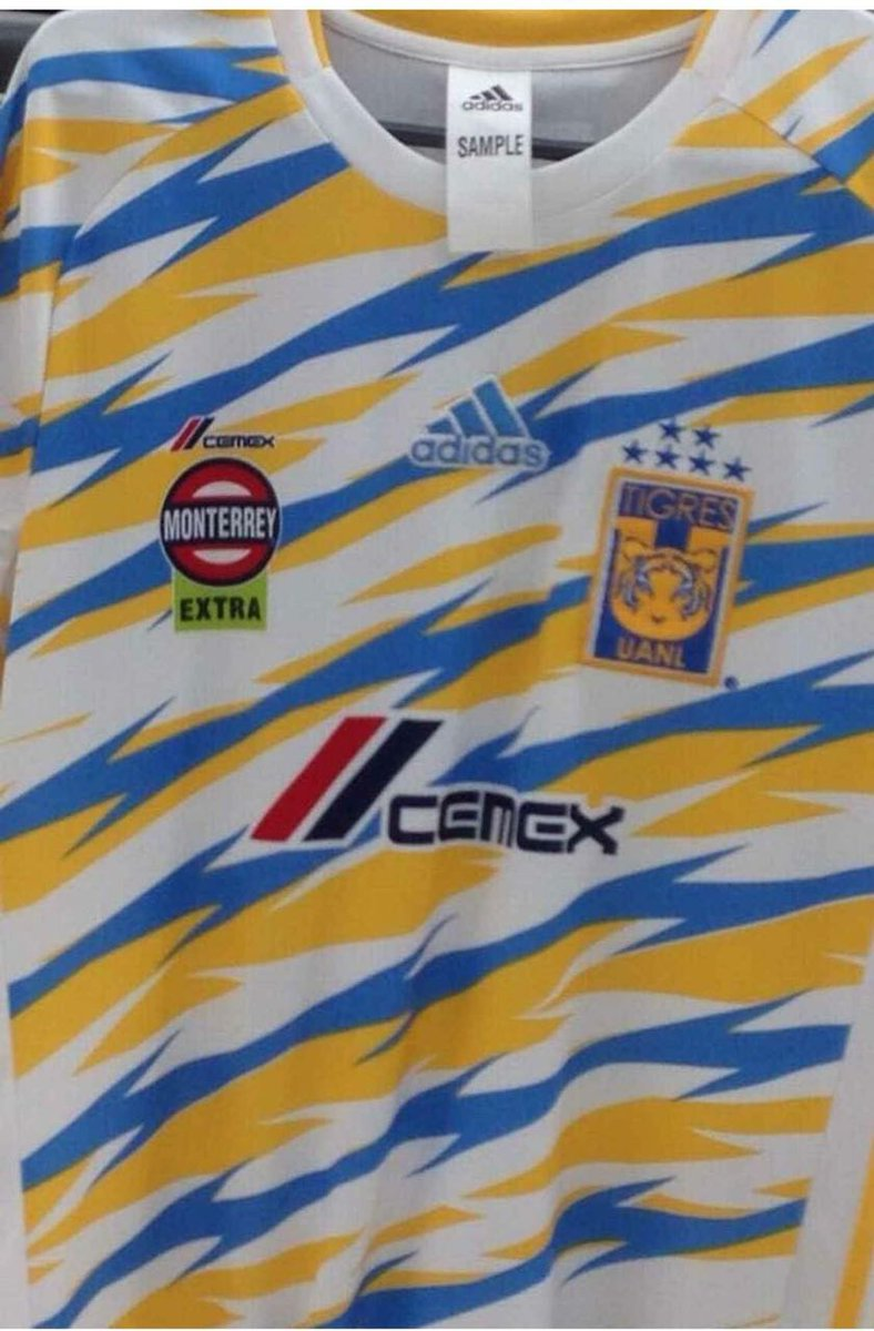 ¿Les agrada? Se filtra un posible diseño para ser una de las próximas playeras de #Tigres