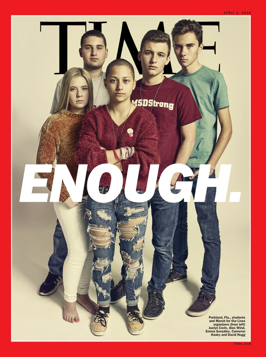 Time Magazine asks, 'Can these kids really do it?'  Parkland school shooting survivors are on the cover of tomorrow's edition.