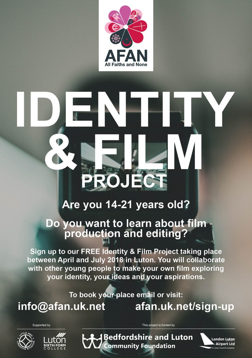 Places Still Available For Anyone Wanting To Capture Ideas Around Identity Belonging On Film Photography Across Luton Bedfordshire Sign Up If Youre