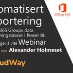 Image for the Tweet beginning: Neste webinar arrangert av CloudWay