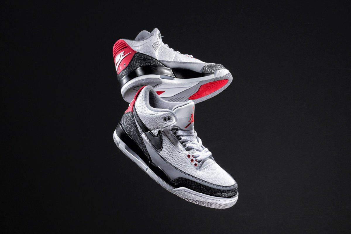 """027b793eb31 IN-STORE RAFFLE for the Air Jordan 3 """"Tinker Hatfield"""" will be held FRIDAY ( 3/23) in our Cambridge & New York locations from 12-6pm - valid ID required  ..."""
