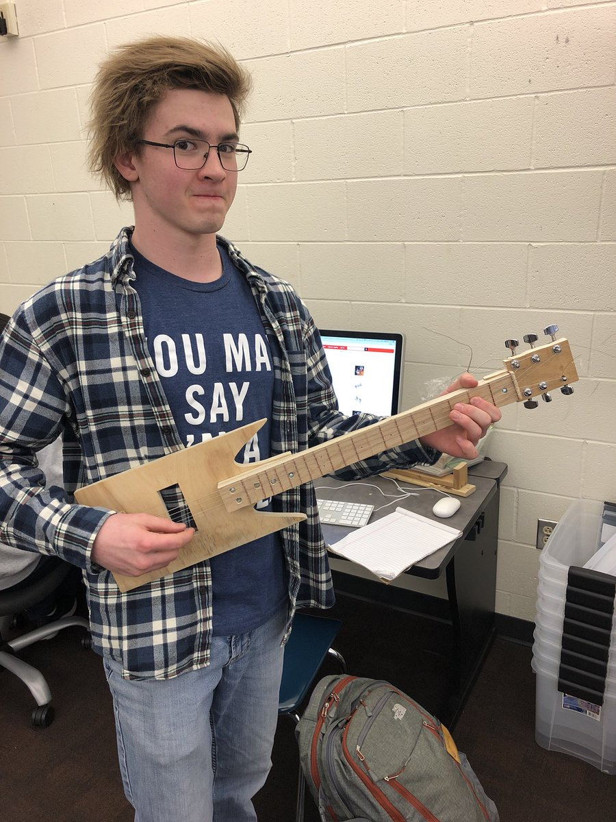 i can make musical instruments makerspace projects