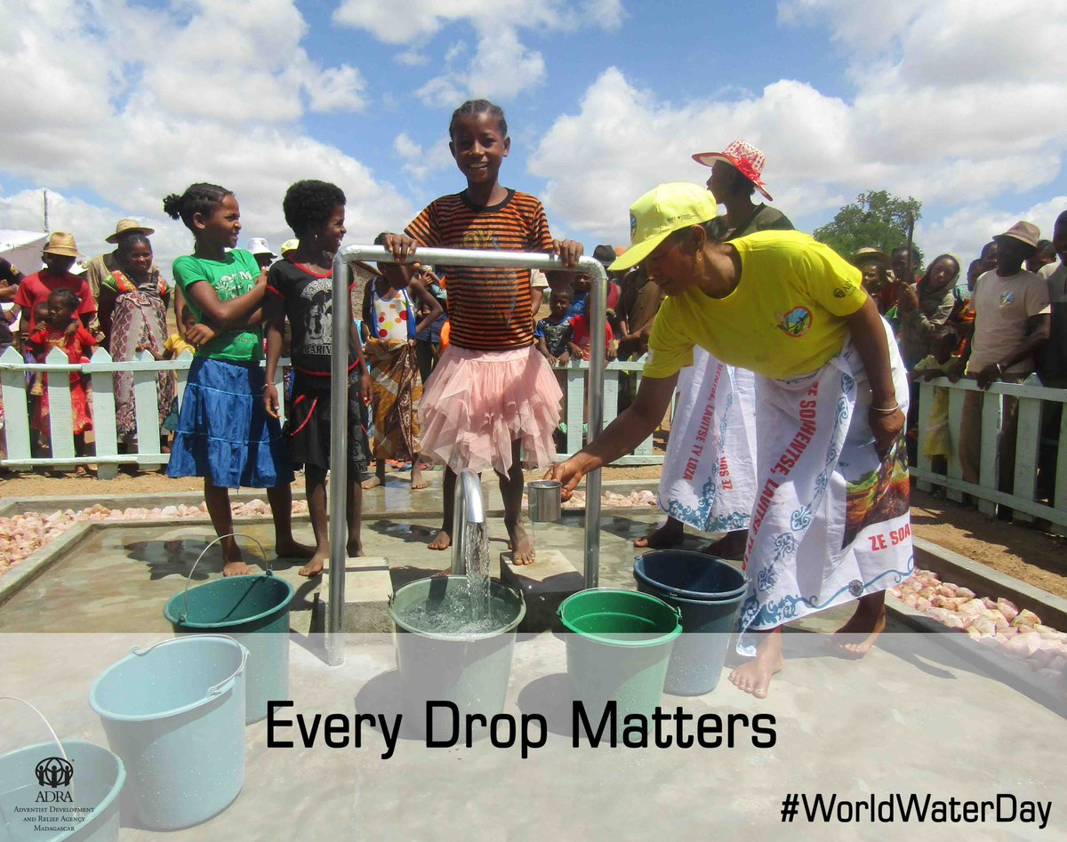 ADRA Madagascar on Twitter In Southern Madagascar where water is