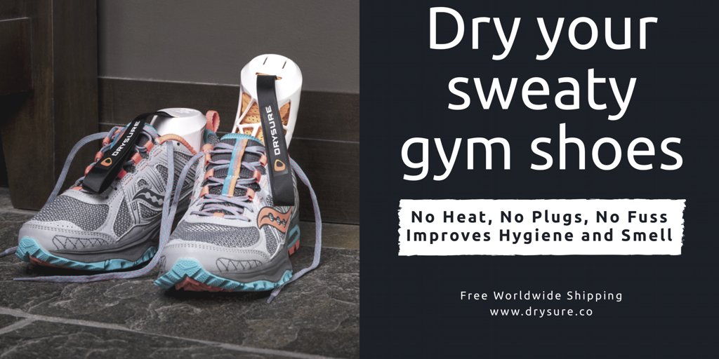 say Dr. Ackerley @HygieneDoctor Check Out Drysure Active Shoe Dryers  http://www.drysure.co #drysure #gym #getfit #running #cycling #sport ...