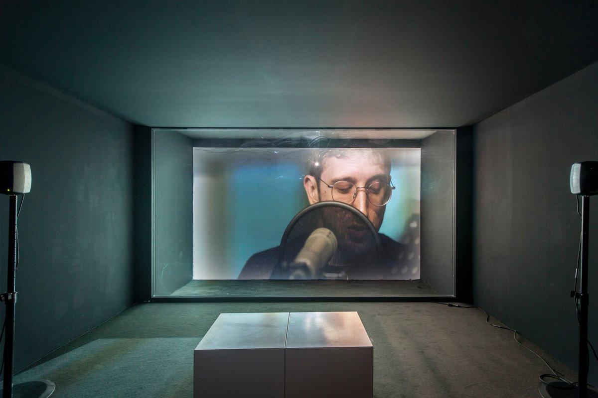 Catch @AbraajArtPrize winner, artist & audio investigator @LAbuHamdan's 'Wall Unwalled', a video installation exploring sound particles heard through walls. Now showing @ArtDubai #AGAP18 https://t.co/eoPQpQpxwl
