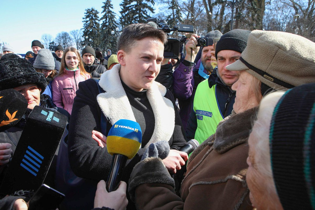 Savchenko arrived in Moscow at the appeal hearing Karpyuk and Klykh 10/26/2016 86