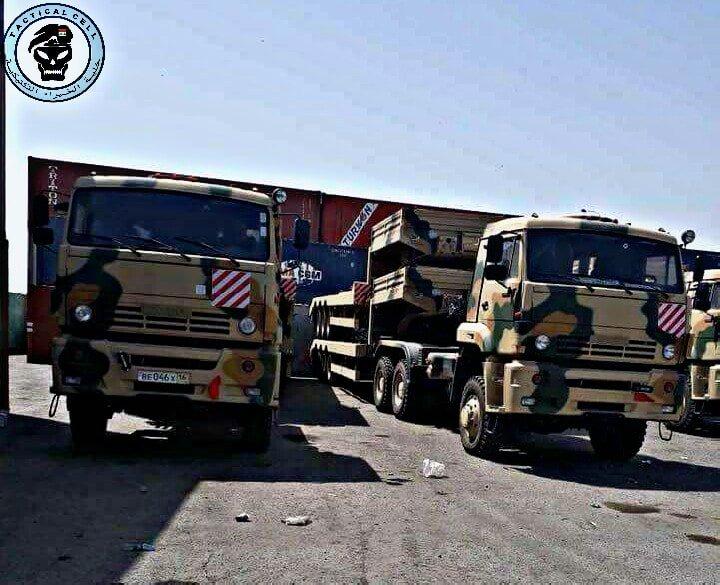 العراق يتسلّم منظومات الدفاع الجوي بانستير إس-1 (PANTSIR S1) الروسية . DY5deVRX0AEW66p
