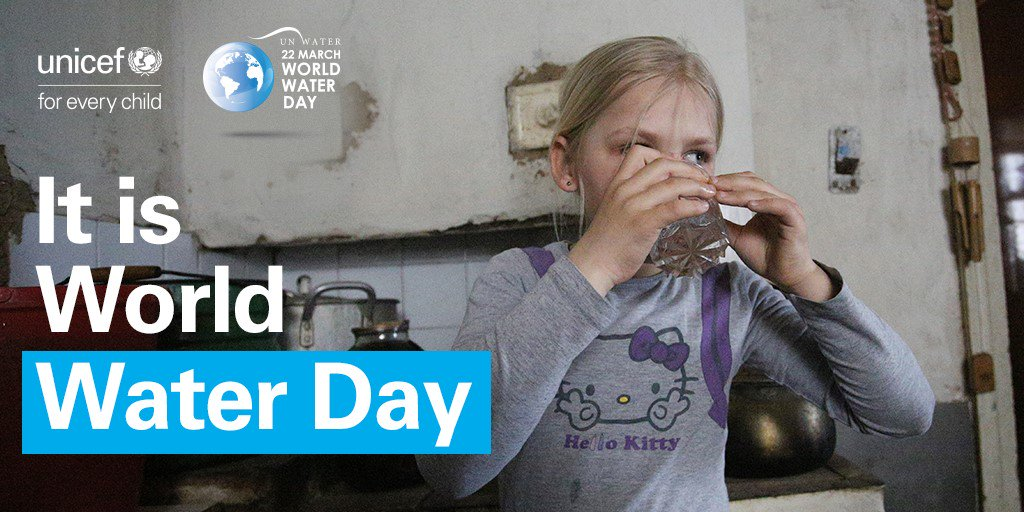 Attacks on water & sanitation infrastructure in eastern #Ukraine deny children access to safe water, & leave many families at risk of relying on contaminated water & unsafe sanitation. Water Infrastructure is #NotATarget