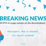 Image for the Tweet beginning: 🎉BREAKING NEWS: ETHLend Reaches Record