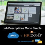 #SAPAppCenter App of the Week: JDMS® - Extend SAP SuccessFactors with a fully integrated award winning solution to manage and maintain your job description library.Learn more at https://t.co/FgF2QgtzRb