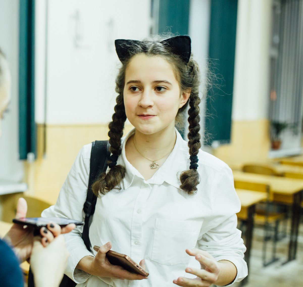 Now I think more about #water scarcity. I noticed that I used water every day without trying to save it. When I cleaned my teeth, I left water on. Now I turn it off as I dont want to harm our planet - Elvira, participant of @TheWorldsLesson on water in #Ukraine. #WorldWaterDay