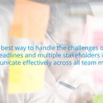 Agile development has tight and frequent deadlines, the best way to handle the challenge of tight deadlines and multiple stakeholders is effective communication. Discover the five ways to improve #agile team communication and trust. https://t.co/afxvwIbxfi