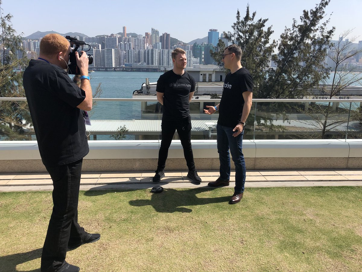 Extra thanks @SVK_Crypto for featuring @julianzawist we're looking forward to check the vid out!