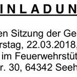 """Heute Abend tagt wieder die Gemeindevertretung #Seeheim-#Jugenheim. Lang ist die Tagesordnung nicht, diskutiert werden wird vor allem über das Thema """"Smarte Gemeinde"""" und die geplante Schließung der Dahrsbergschule: https://t.co/R67dM8aJtn #GeVerSJ"""