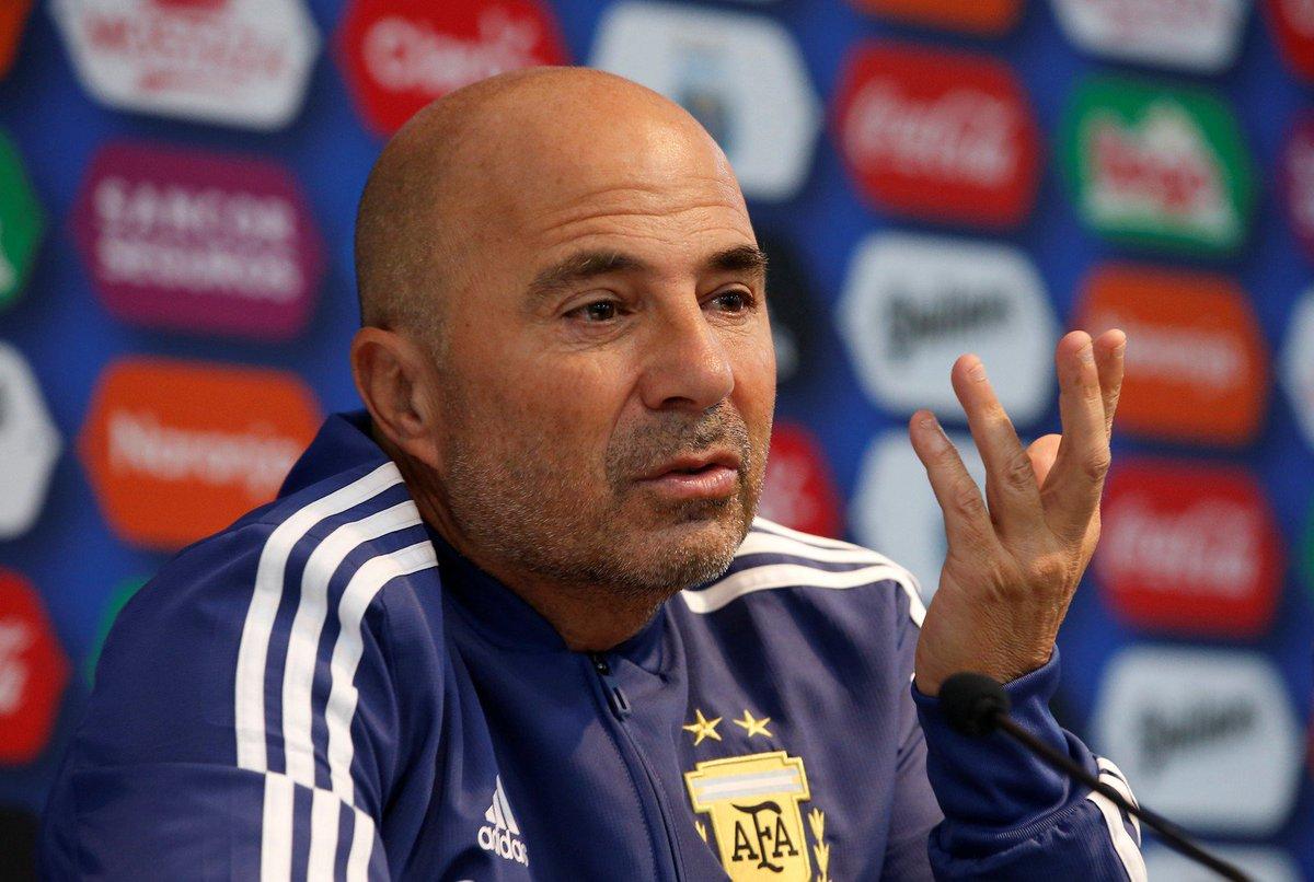 """Sampaoli: """"El mejor Agüero es el de Independiente"""""""