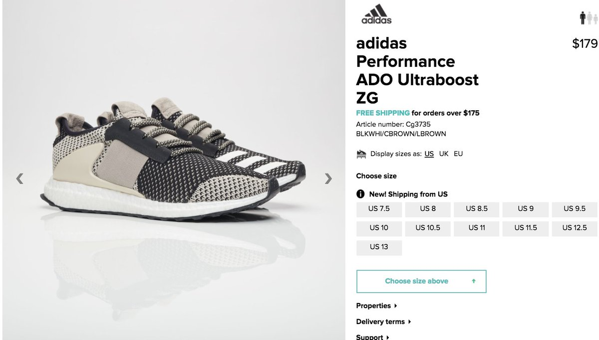 cheap for discount 81ebc 9dafb  RESTOCK adidas Day One Ultra Boost ZG  Clear Brown      http   bit.ly 2ucA4cQ pic.twitter.com pxSpUifsAR