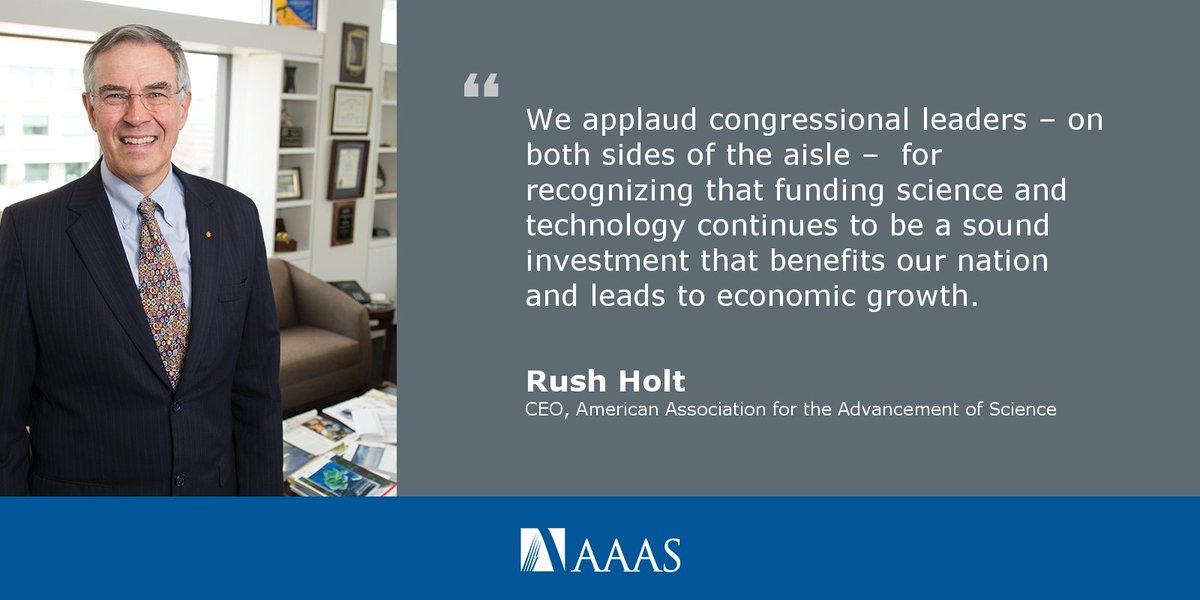 Congress Ignores Trump's Priorities for Science Funding