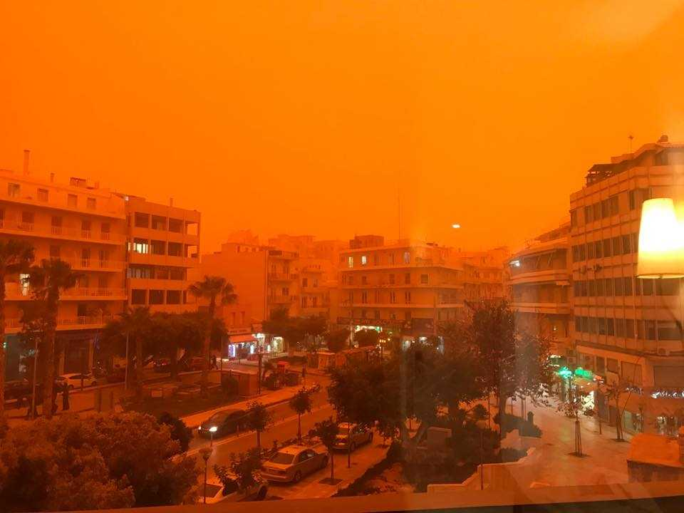 Severe Weather Eu On Twitter Huge Amounts Of Saharan Dust