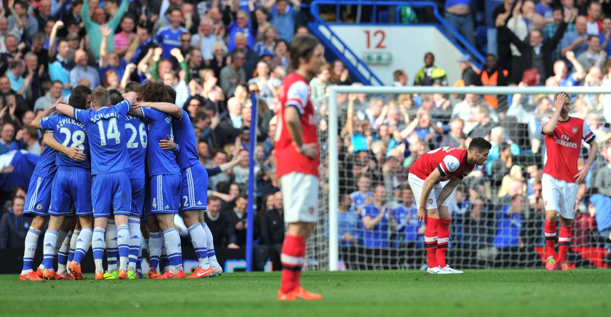 4️⃣ years ago today at Stamford Bridge...  Chelsea 6-0 Arsenal! �� https://t.co/L94OROqCwb