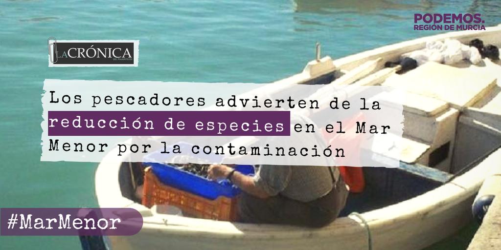 🏝️ #MarMenor en la UCI 🤒  Los pescadores...