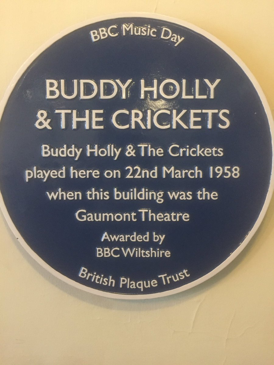 Image result for buddy holly blue plaque salisbury