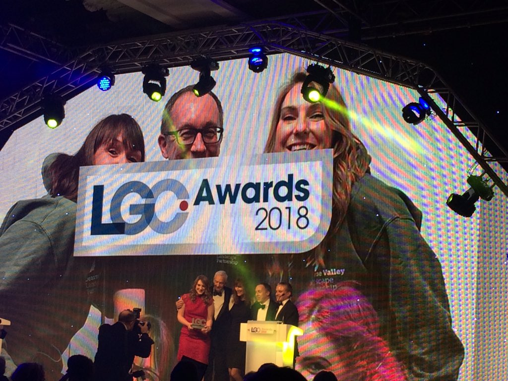 Fantastic achievements by councils showcased at last night's @LGCAwards. Thanks for inviting us @lgcplus!