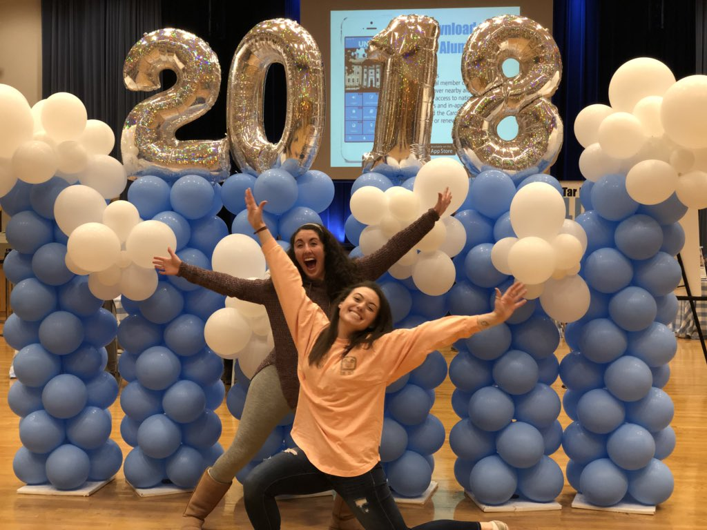 It's starting to feel so real! 😭💙 Be sure to check out the @uncucs ConGRADulations Fair until 4 p.m. today in the @CarolinaUnion! #UNCGrad https://t.co/AdFHYv4Nkp