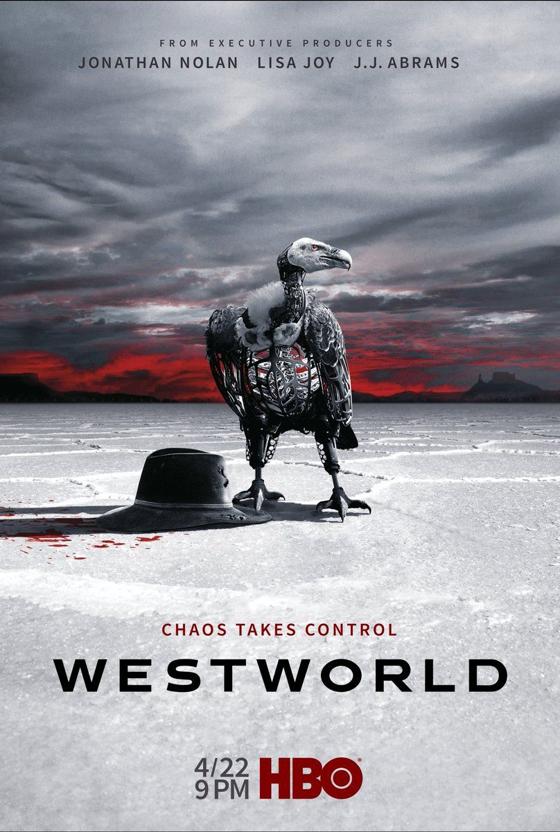 Oh hello, new #Westworld poster.